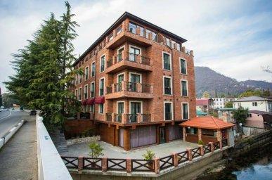 Новый отель в Абхазии