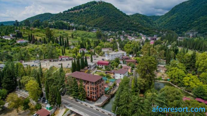 Лучший отель Абхазии